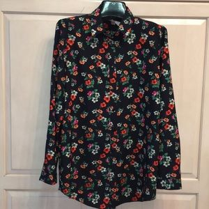 NWT Philosophy Republic Floral Long sleeves Blouse